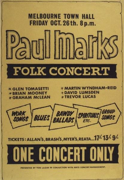 Folk Concert c1963