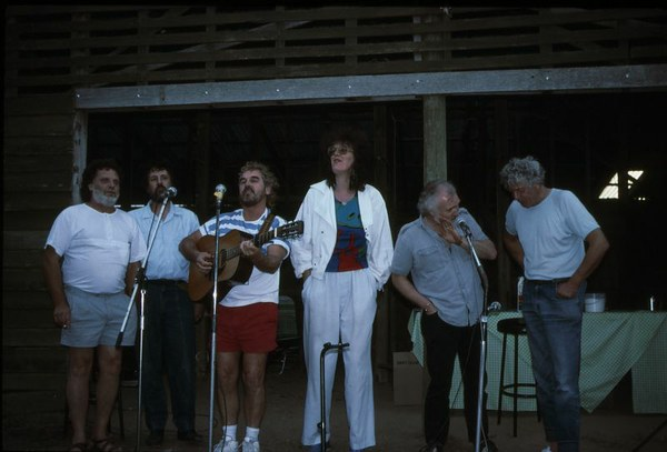 Reunion Concert at Lancefield Winery 1986