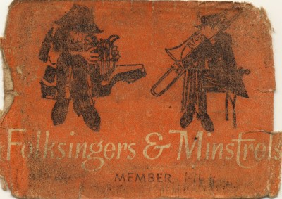 Ken White's Traynor's Membership Card 1965
